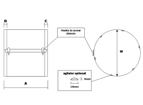mazzetti crivello calibratore cilindrico prev